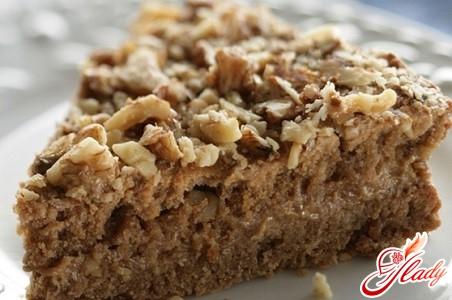 торт с орехами рецепт