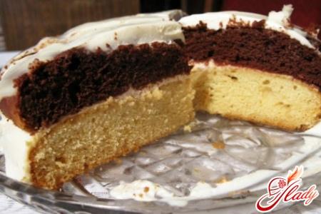 сметанный торт в мультиварке