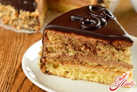 торт со сгущенкой рецепт простой с фото