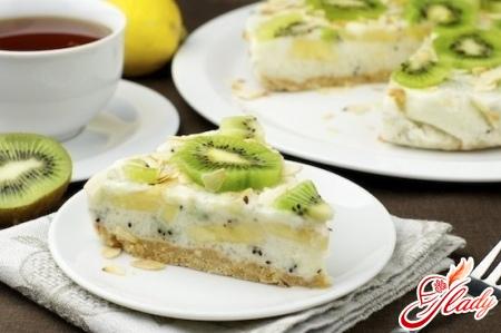 творожно йогуртовый торт