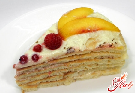 торт из творога на сковороде