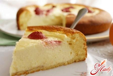 как приготовить пирог творожный на сковороде