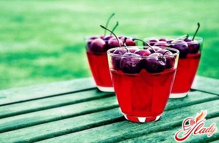 вишневый кисель рецепт