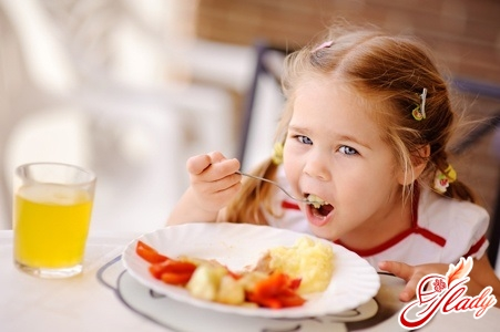 детская диета при гастрите