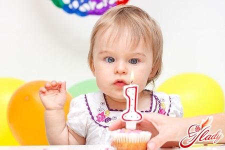 развитие ребенка в 1 год