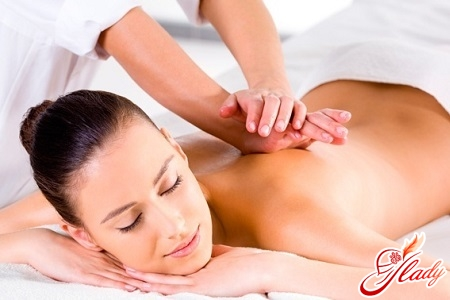 массаж шеи и спины
