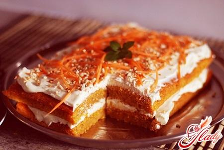 десерт из моркови рецепты с фото
