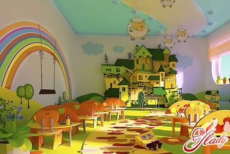 Оформление детского сада волшебные превращения
