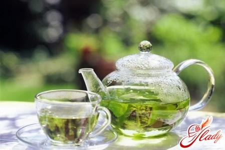 правильный разгрузочный день на зеленом чае