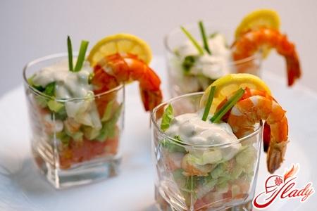 как приготовить салат коктейль фото