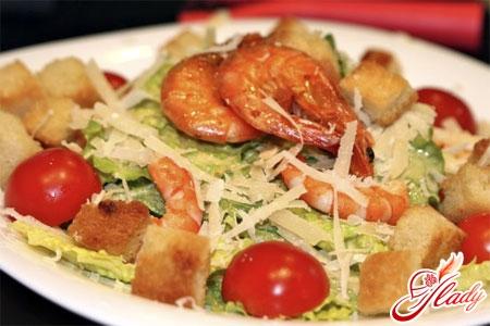 Рецепт салата из креветок и пекинской капусты