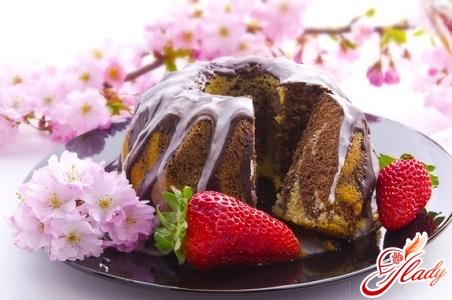 шоколадный торт простой рецепт