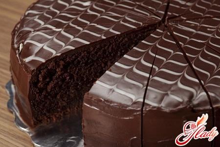 праздничный шоколадный торт рецепт
