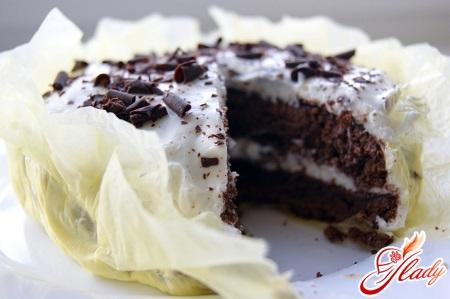 сметанный крем для шоколадного торта