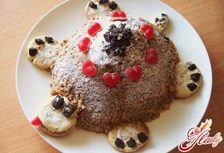 Торт «Черепаха»: любимый детский десерт