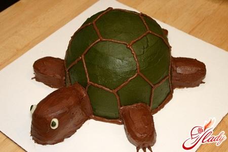 рецепт торт черепаха