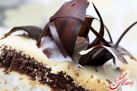 торт 2 шоколада