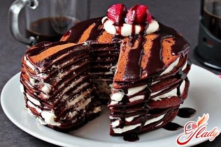 торт два шоколада рецепт