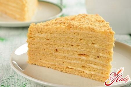 Вкусный торт медовик со сметанным кремом