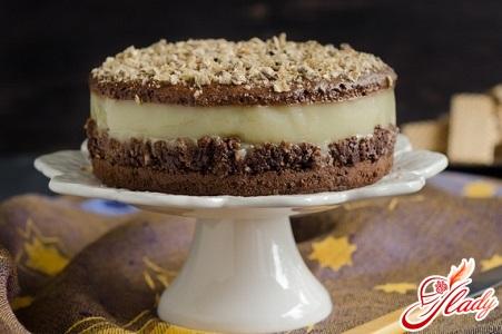 орехово шоколадный торт