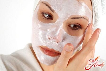 маска из кефира для лица дома