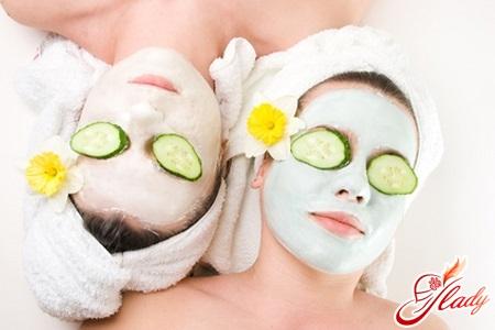 маска для лица для упругости кожи