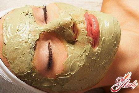 приятная маска для лица с алоэ
