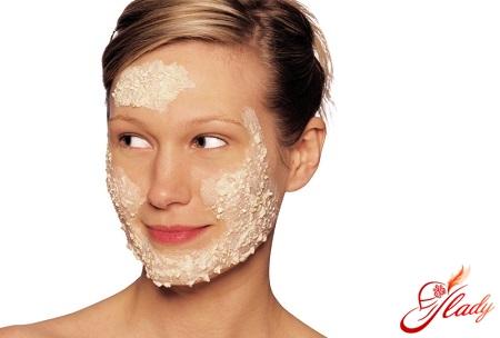маска для лица из геркулеса