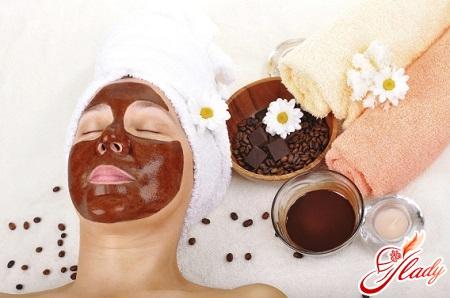 маска из кофе для лица