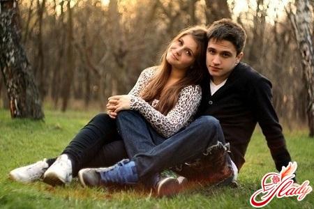 первая несчастная любовь