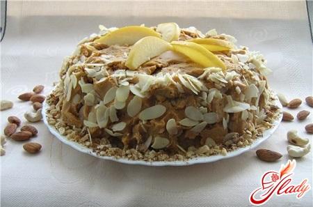 рецепт пряничного торта