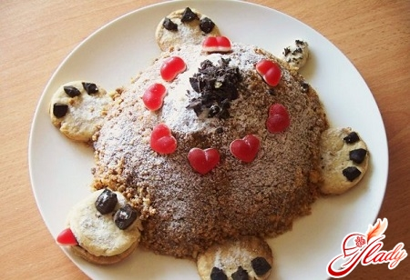 вкусный торт черепаха с киви
