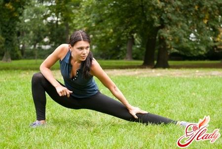 полезное упражнение стенка для ног