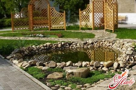 водоемы в саду своими руками