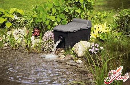 водоем в саду своими руками