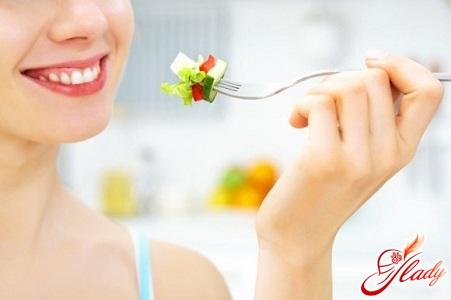 правильная диета при цистите