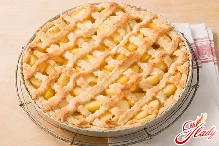 французский яблочный пирог татен