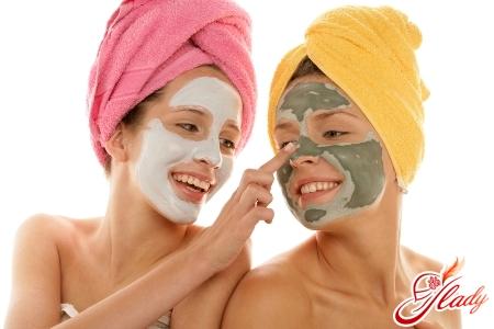 маски для лица в баню