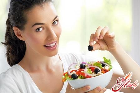 Правильная диета для красивой фигуры