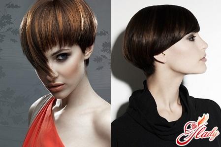 красивая стрижка шапочка на короткие волосы