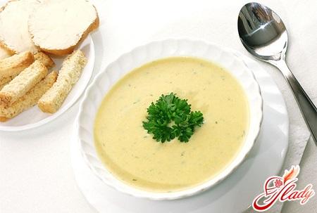 сырный суп с плавленным сыром рецепт на воде