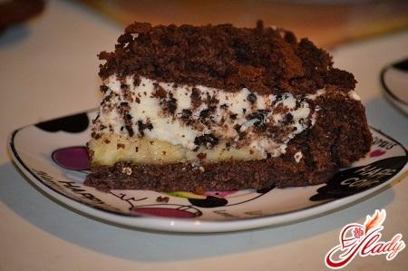 торт кротовая горка