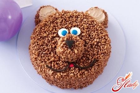 торт мишка олимпийский