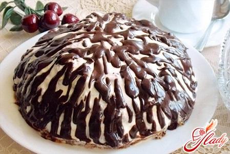 торт панчо рецепт с вишней