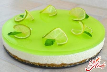 желейный торт со сметаной