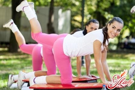 упражнения против целлюлита на ягодицах