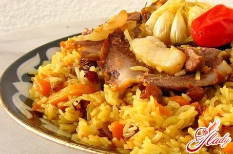 вкусный азербайджанский плов рецепт