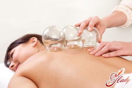 антицеллюлитный баночный массаж