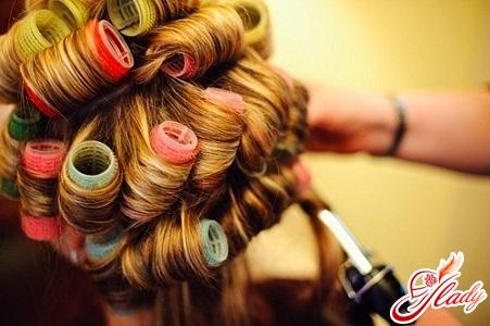 накрутить волосы