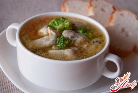 как приготовить клецки для супа